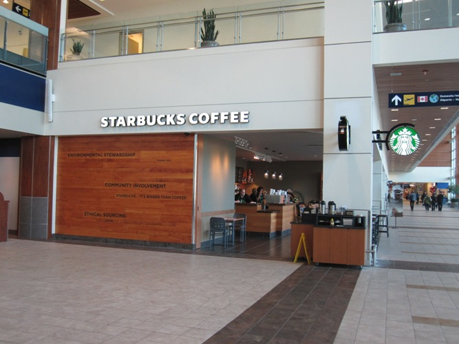 A picture of Starbucks